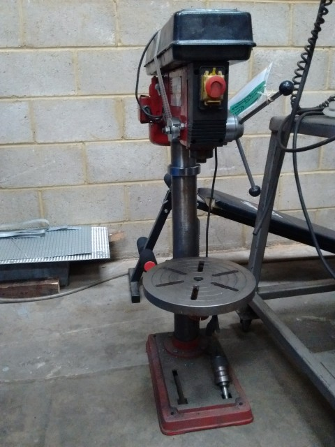 Sealey bench mounted drill